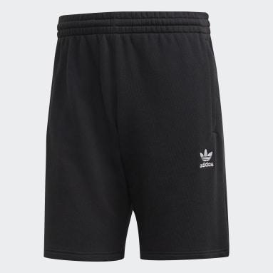Men Originals Black LOUNGEWEAR Trefoil Essentials Shorts