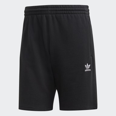 Shorts Trefoil Essentials Preto Homem Originals