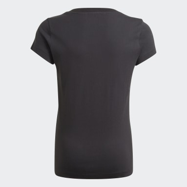 Girls Lifestyle Black adidas Essentials Tee
