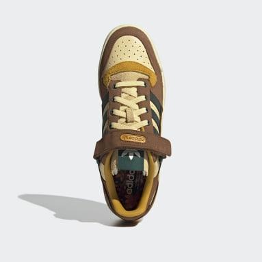 Men Originals Orange Forum Low Atmos Shoes
