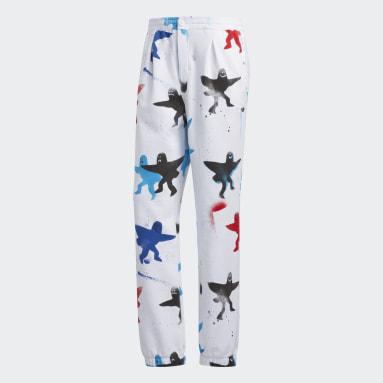 Pants AOP Shmoo Blanco Hombre Originals