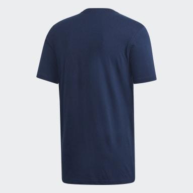 Men Originals Blue Monogram Square T-Shirt