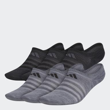 Men's Training Grey Superlite Super-No-Show Socks 6 Pairs