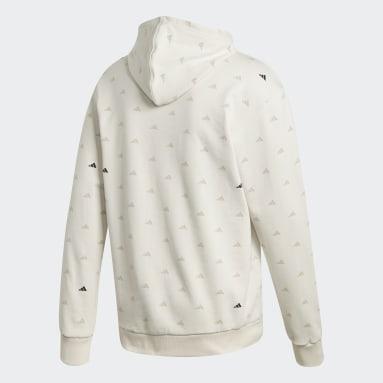 Men's Sportswear White adidas Athletics Pack Hoodie