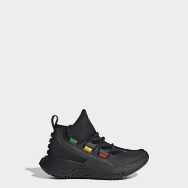 Chaussure adidas x LEGO® Sport Mid Noir Enfants Running