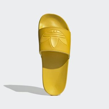 Sandalias adilette Lite Amarillo Originals