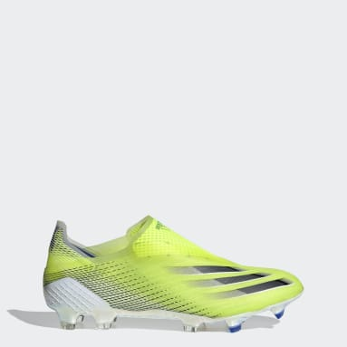 Soccer Yellow X Ghosted+ Firm Ground Cleats