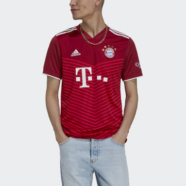 Maillot Domicile FC Bayern 21/22 Rouge Hommes Football