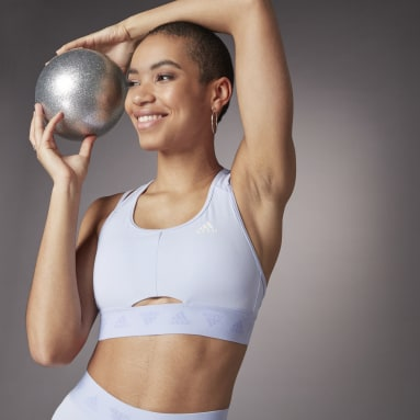 Reggiseno sportivo Hyperglam Light Support Viola Donna Fitness & Training