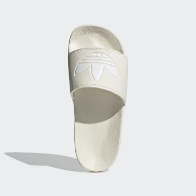 Women Originals White Adilette Lite Slides