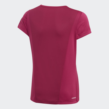Youth 8-16 Years Gym & Training Pink Cardio T-Shirt
