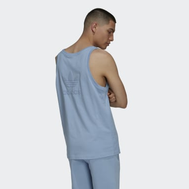 Camiseta sin mangas Adicolor Classics MM Trefoil Azul Hombre Originals