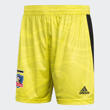 Shorts Amarillo Niño Fútbol