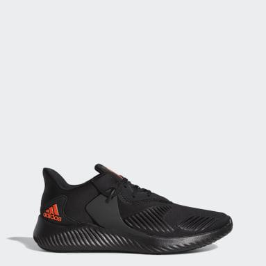 Men Running Black Alphabounce RC Shoes