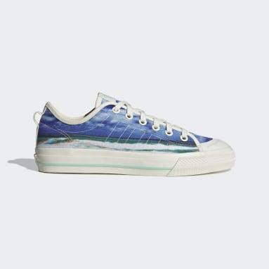 Originals Blauw Nizza RF Schoenen