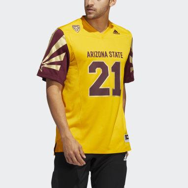 Men's Football Yellow Sun Devils Reverse Retro Jersey