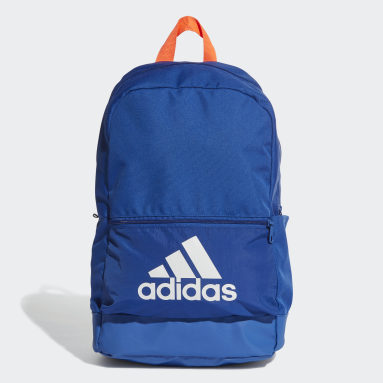 Volleyball Blue Classic Badge of Sport Backpack