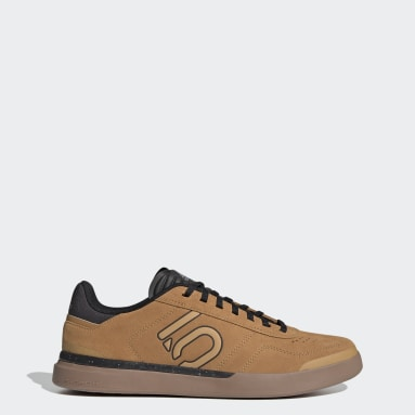 Men's Five Ten Brown Five Ten Sleuth DLX Mountain Bike Shoes