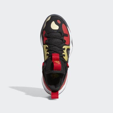 Youth Basketball Black Harden Stepback 2 Shoes