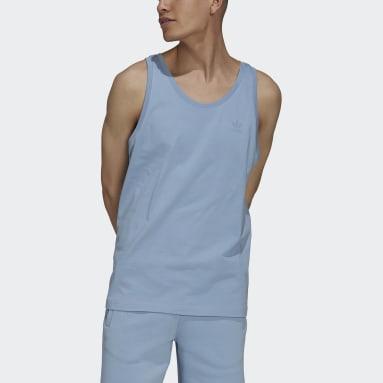 Camisola de Alças MM Trefoil Adicolor Classics Azul Homem Originals