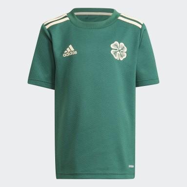 Divisa Mini Away 21/22 Celtic FC Verde Bambini Calcio