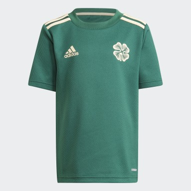 Mini kit Extérieur Celtic FC 21/22 Vert Enfants Football