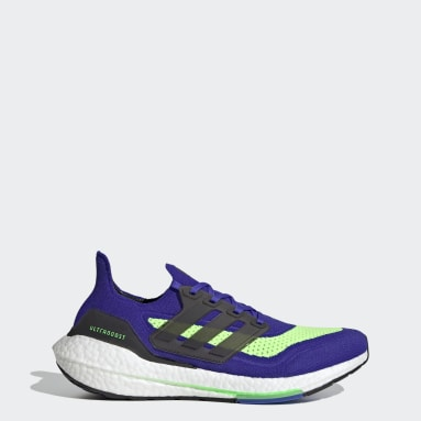 Hardlopen Blauw Ultraboost 21 Schoenen