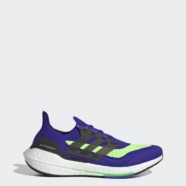 Zapatilla Ultraboost 21 Azul Running