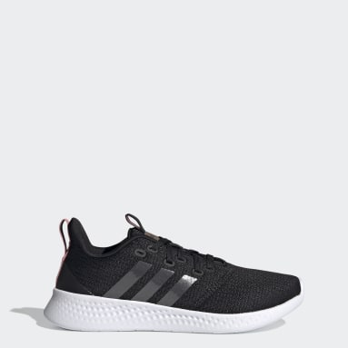 Women Running Black Puremotion Shoes