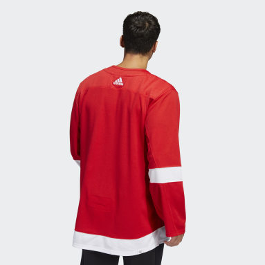 Men's Hockey Red Red Wings Home Authentic Jersey