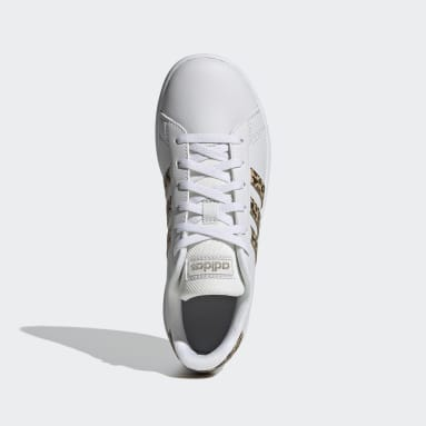 Kids sport_inspired White Grand Court Shoes