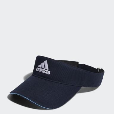 ผู้หญิง กอล์ฟ สีน้ำเงิน หมวกไวเซอร์ผ้าทวิล Badge of Sport