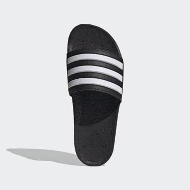 Svømning Sort Adilette Boost sandaler