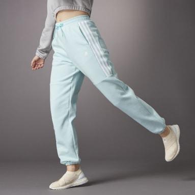 Women Sportswear Green Hyperglam High-Rise Joggers 