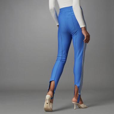 Pantalon de survêtement Blue Version Slim Beckenbauer Bleu Femmes Originals