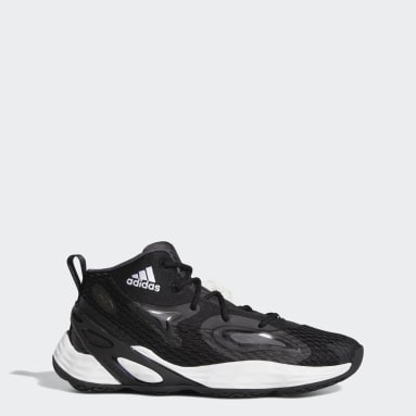 Chaussure Exhibit A Mid Noir Basketball