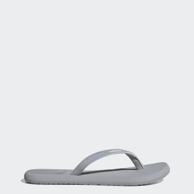 Women Swim Grey Eezay Flip-Flops
