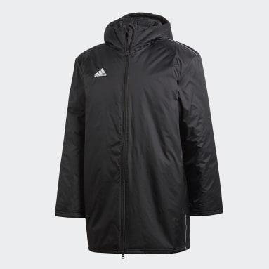 Men Gym & Training Black Core 18 Stadium Jacket