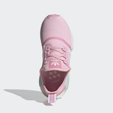 Chaussure NMD_R1 Rose Adolescents Originals