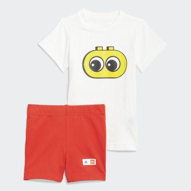 белый Комплект: футболка и шорты LEGO® DUPLO®