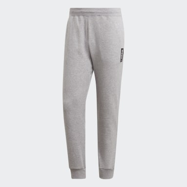 Men Sport Inspired Grey Brilliant Basics Track Pants