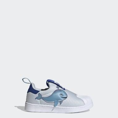Children Originals Blue Superstar 360 Primeblue Shoes