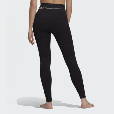Women adidas by Stella McCartney Black adidas by Stella McCartney Seamless Yoga Tights