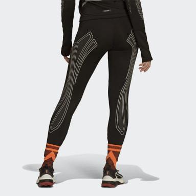 Women adidas by Stella McCartney Black TruePace COLD.RDY Leggings