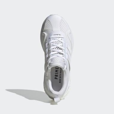 Women Running White SolarGlide Karlie Kloss Shoes