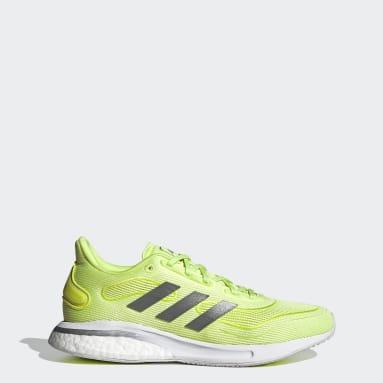 Women's Running Yellow Supernova Shoes