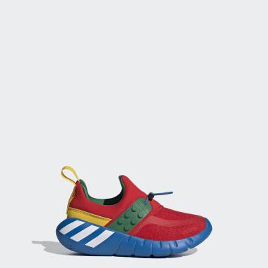 เด็ก เทรนนิง สีแดง รองเท้า adidas RapidaZen x LEGO®