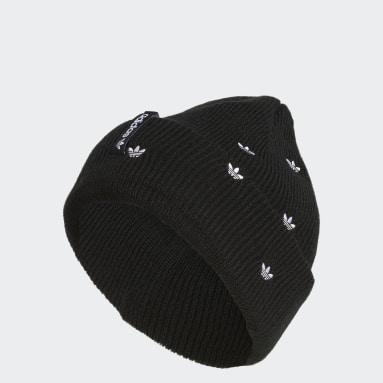 Women's Originals Black Embroidery Beanie