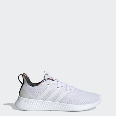 Women Running White U4U Collection Shoes