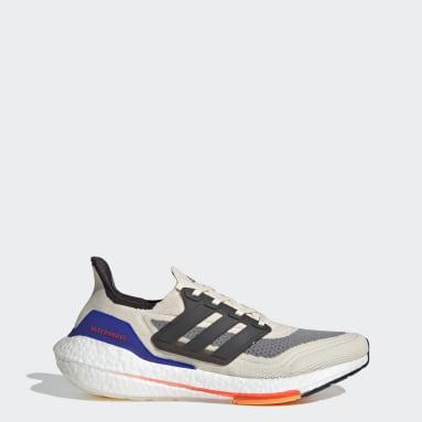 Zapatillas Ultraboost 21 Blanco Hombre Running